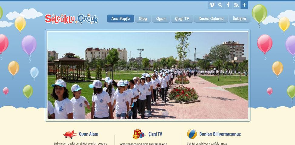 Selçuklu Belediyesi Çocuk Sitesi