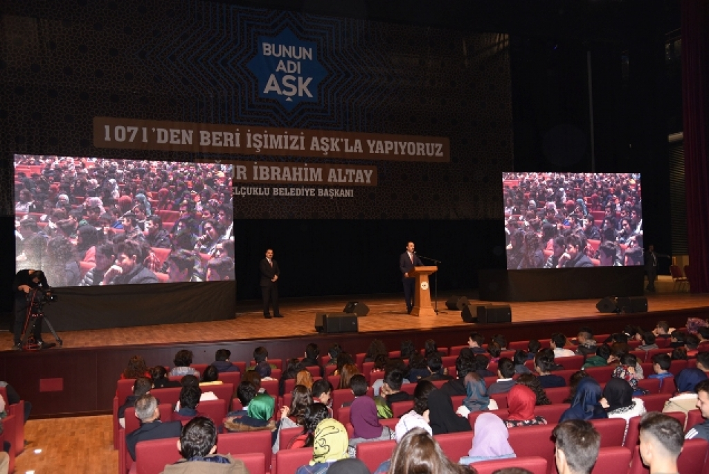 """Başkan Altay, """"Büyük ve Güçlü Türkiye'yi Gençler İnşa Edecek"""""""